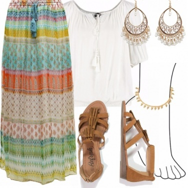Outfit Cavigliera gipsy