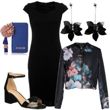 Outfit Fiori glam