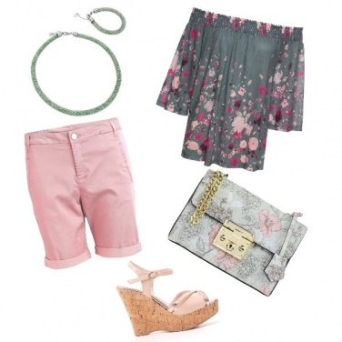 Outfit GreenPink