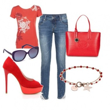 Outfit In rosso