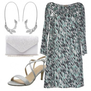 Outfit Green and gray