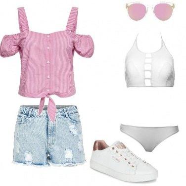 Outfit Al mare con le amiche