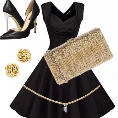 Outfit La reginetta del ballo