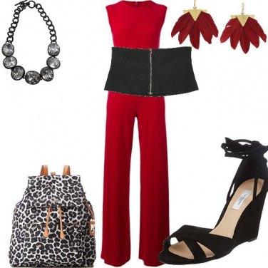 Outfit Con lo zaino animalier