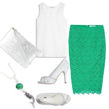 Outfit Hope green