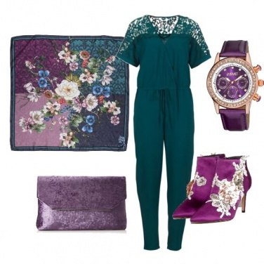 Outfit Purple Night