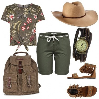 Outfit Mood of the day: Safari