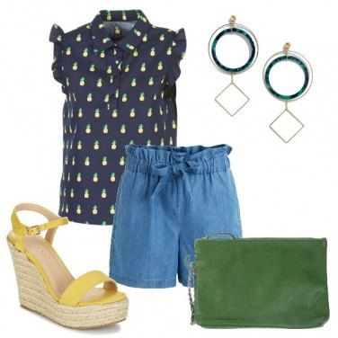 Outfit Pineapple