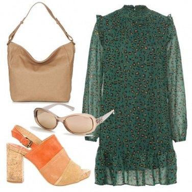 Outfit Verde a fantasia