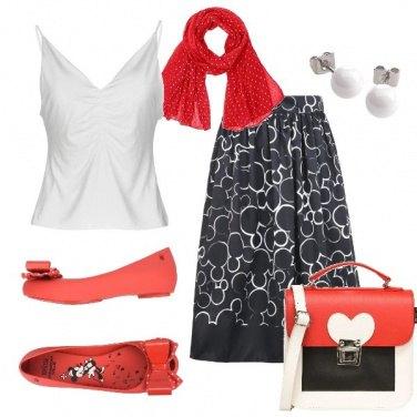 Outfit A passeggio come Minnie e Topolino
