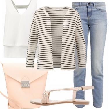 Outfit Bon ton con semplicità