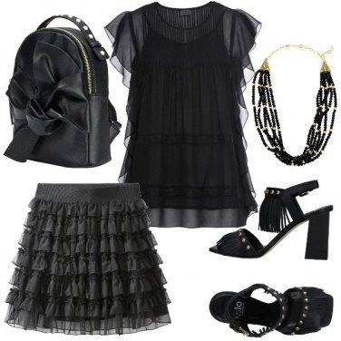 Outfit Balze e borchie