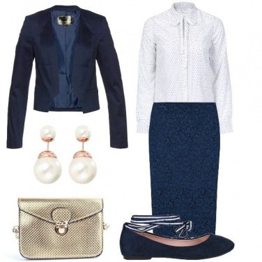 Outfit Laurea in pizzo
