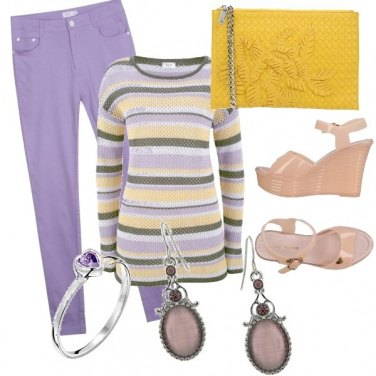Outfit Violet glam
