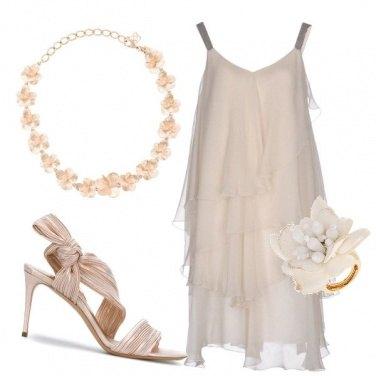 Outfit Una sposa leggera ed eterea
