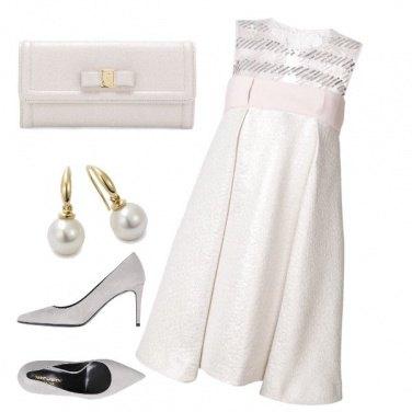 Outfit Testimone di nozze con il pancione