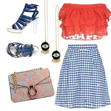 Outfit Dallo shopping all\'aperitivo
