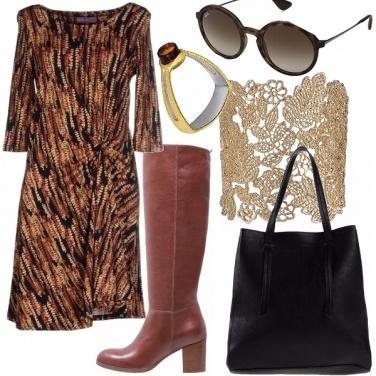 Outfit Oro è chic