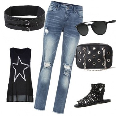 Outfit Rock #1790