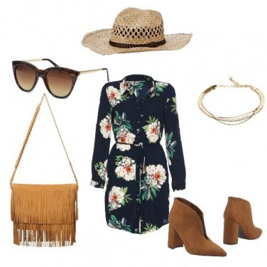 Outfit Country Flowers