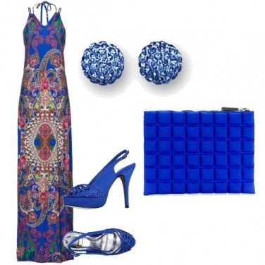 Outfit Sexi in blue