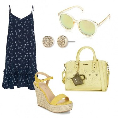 Outfit Accessori lime