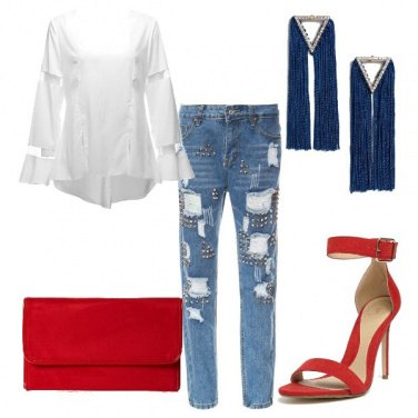 Outfit SandraD Style - Rock #1793