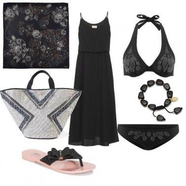 Outfit CMPS L\'eleganza del nero