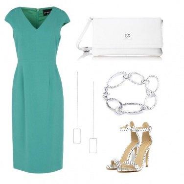 Outfit Il vestito verde