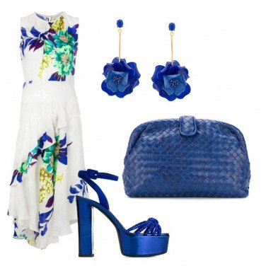 Outfit Blue reale