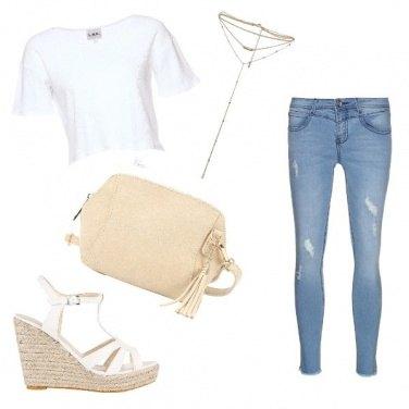 Outfit Fake White