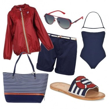 Outfit CMPS Sul gommone a Tropea