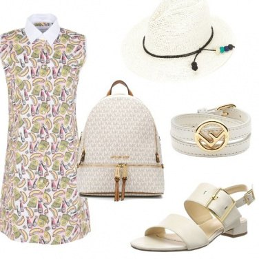 Outfit Bianco panna