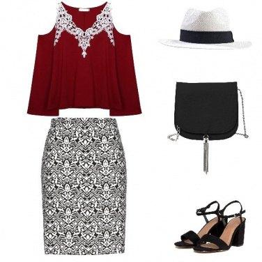 Outfit Come indossare un top corto..