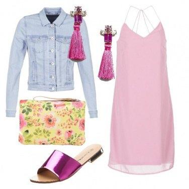 Outfit Delicatamente rosa