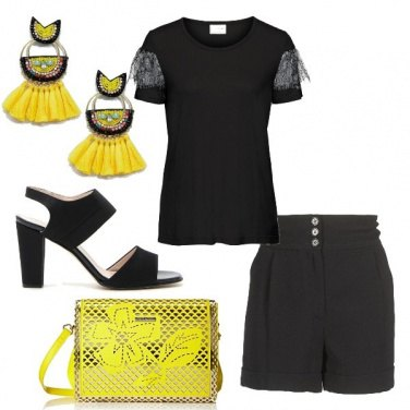 Outfit Spunti in giallo