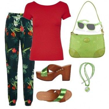 Outfit Viva il verde