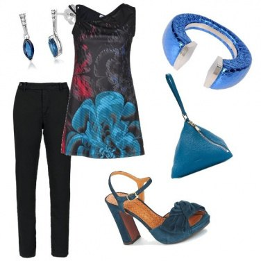 Outfit Dark blue