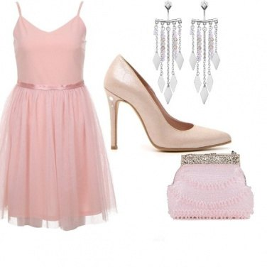 Outfit In rosa cipria