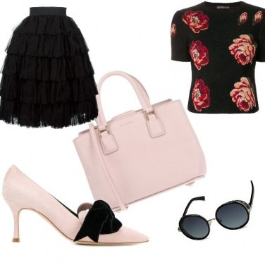 Outfit Carrie pranzo di lavoro