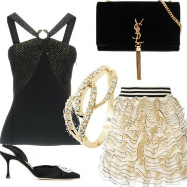 Outfit Carrie a cena con Big