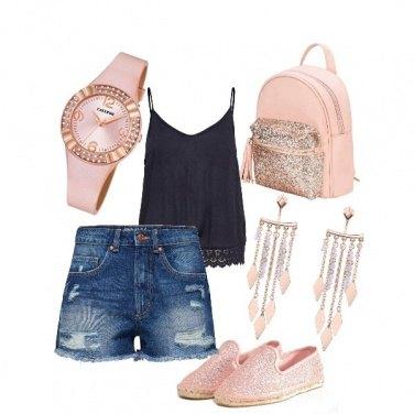Outfit Accessori pink glitter