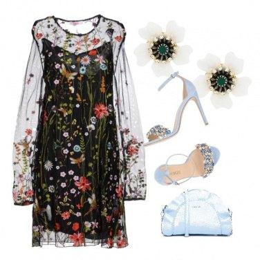 Outfit Orecchini a fiori