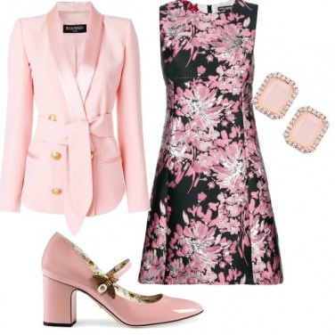 Outfit Sexy in rosè
