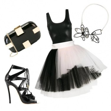Outfit Tulle in the City