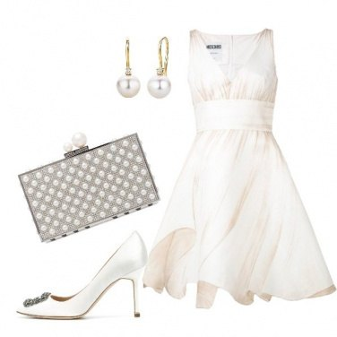Outfit Splendida in bianco