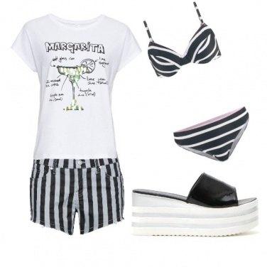Outfit Aperitivo dopo la spiaggia