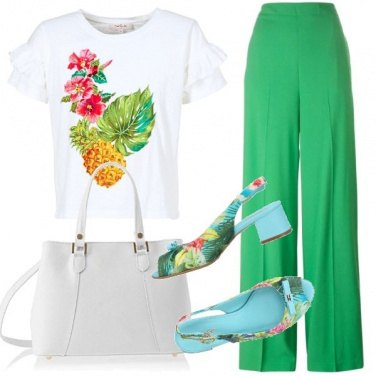 Outfit Fantasia tropical