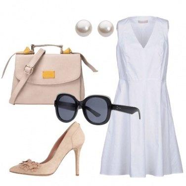 Outfit Il vestito bianco di Charlotte