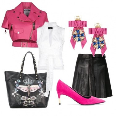 Outfit Pink rock